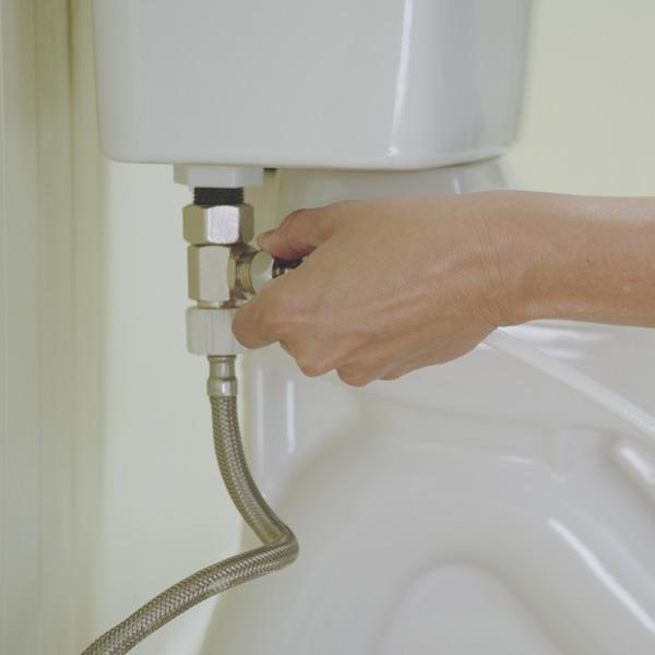 Toilet Seat Bidet Installation - Hose Connection to bidet